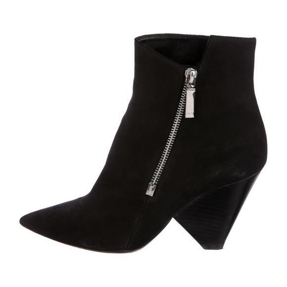 735cc89cea63 Saint Laurent Paris Niki 85 Black Suede Boots 38.5.  M 5bba49f6fe51519ef3d2da77